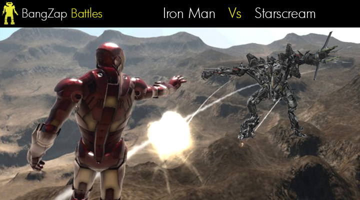 Iron man vs starscream