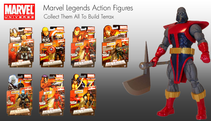 Marvel legends terrax series